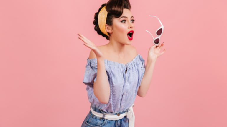 Occhiali da vista femminili nella storia e nella moda